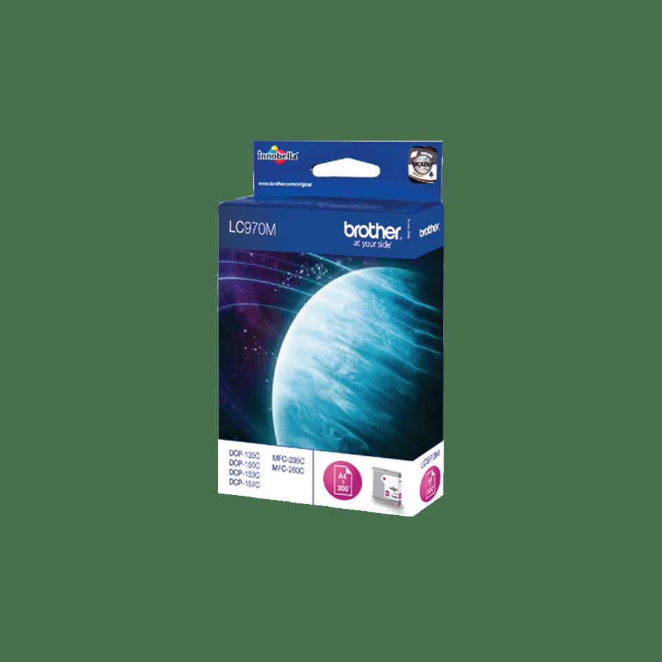 Brotherin alkuperäinen LC970M-värikasetti – Magenta