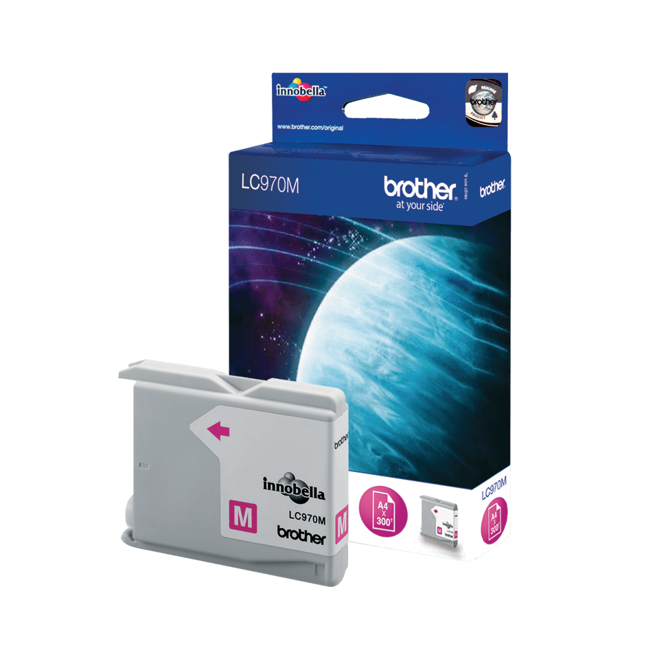 Brother LC970M Cartuccia inkjet originale – Magenta 2