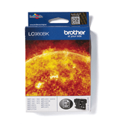 Brother genuine LC980BK ink cartridge pack front image