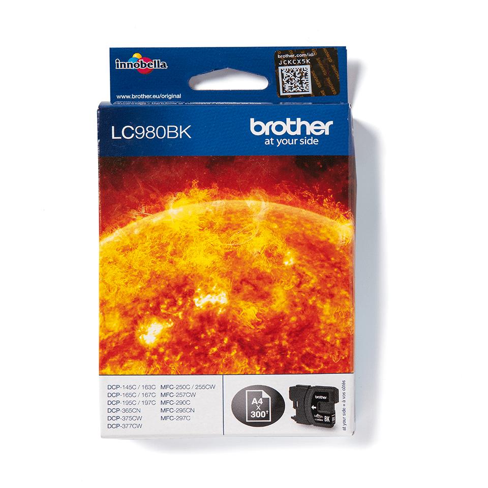 Brother LC-980BK Tintenpatrone schwarz