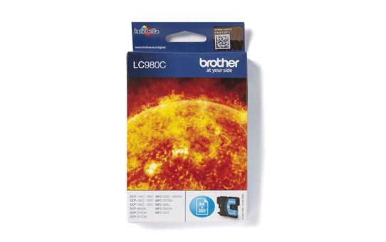Brother LC980C cartouche d'encre cyan