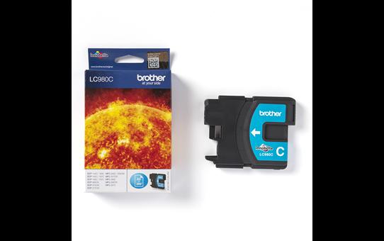Brother LC-980C Tintenpatrone – Cyan 3