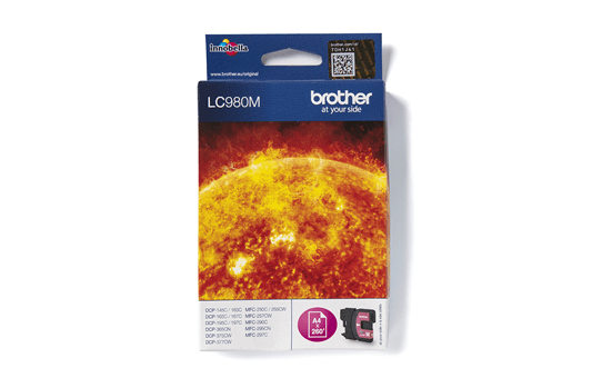 Brother LC-980M Tintenpatrone – Magenta