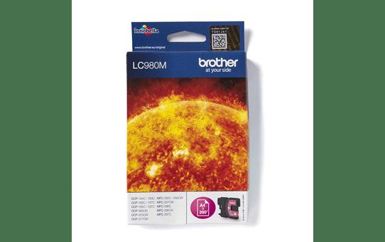 Genuine Brother LC980M Ink Cartridge – Magenta