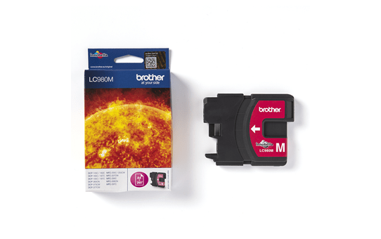 Genuine Brother LC980M Ink Cartridge – Magenta 3