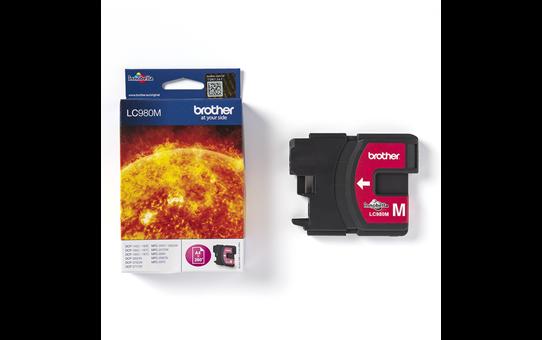 Brotherin alkuperäinen LC980M-värikasetti – Magenta 3