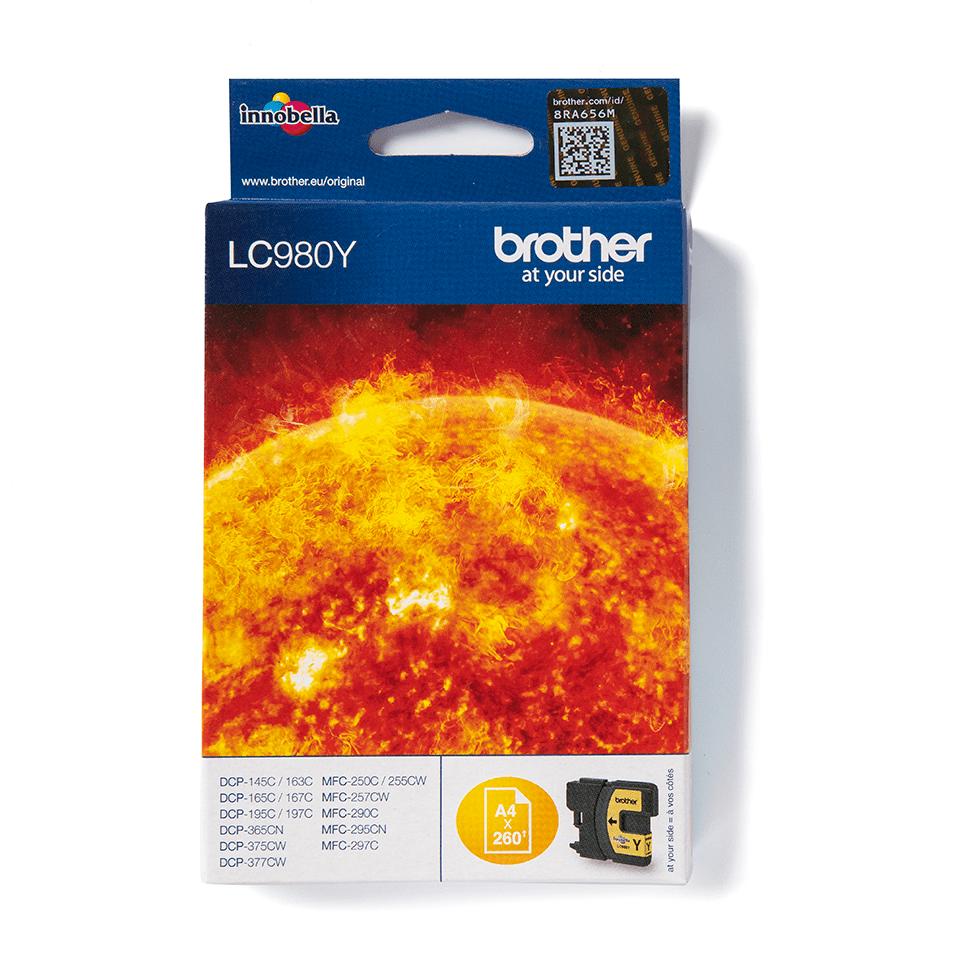 LC900Y sárga tintapatron