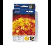 Originele Brother LC-980Y gele inktcartridge