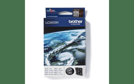 Original LC-985BK Tintenpatrone von Brother – Schwarz