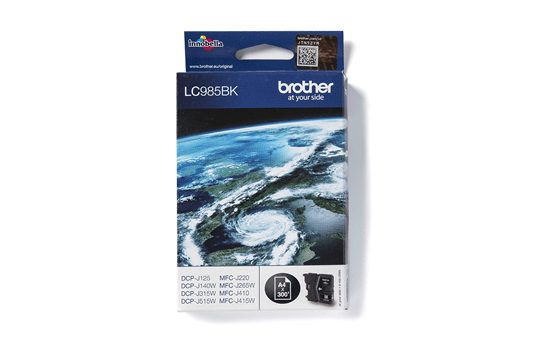 Genuine Brother LC985BK Ink Cartridge – Black