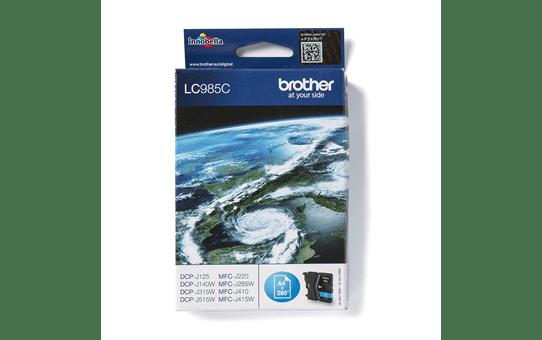 Oryginalny tusz Brother LC-985C – cyan