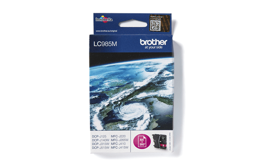 Genuine Brother LC985M Ink Cartridge – Magenta