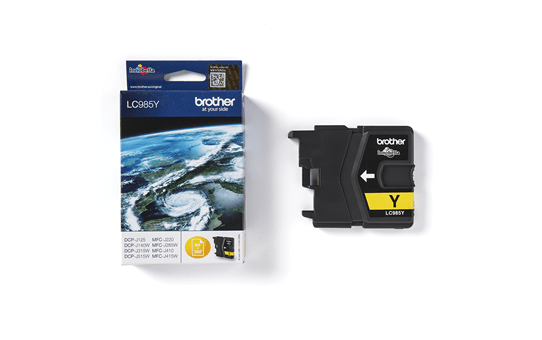 Genuine Brother LC985Y Ink Cartridge – Yellow 3