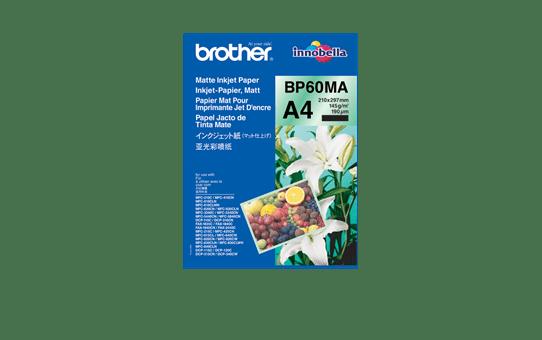 Originální inkoustový papír Brother BP60MA A4 matný