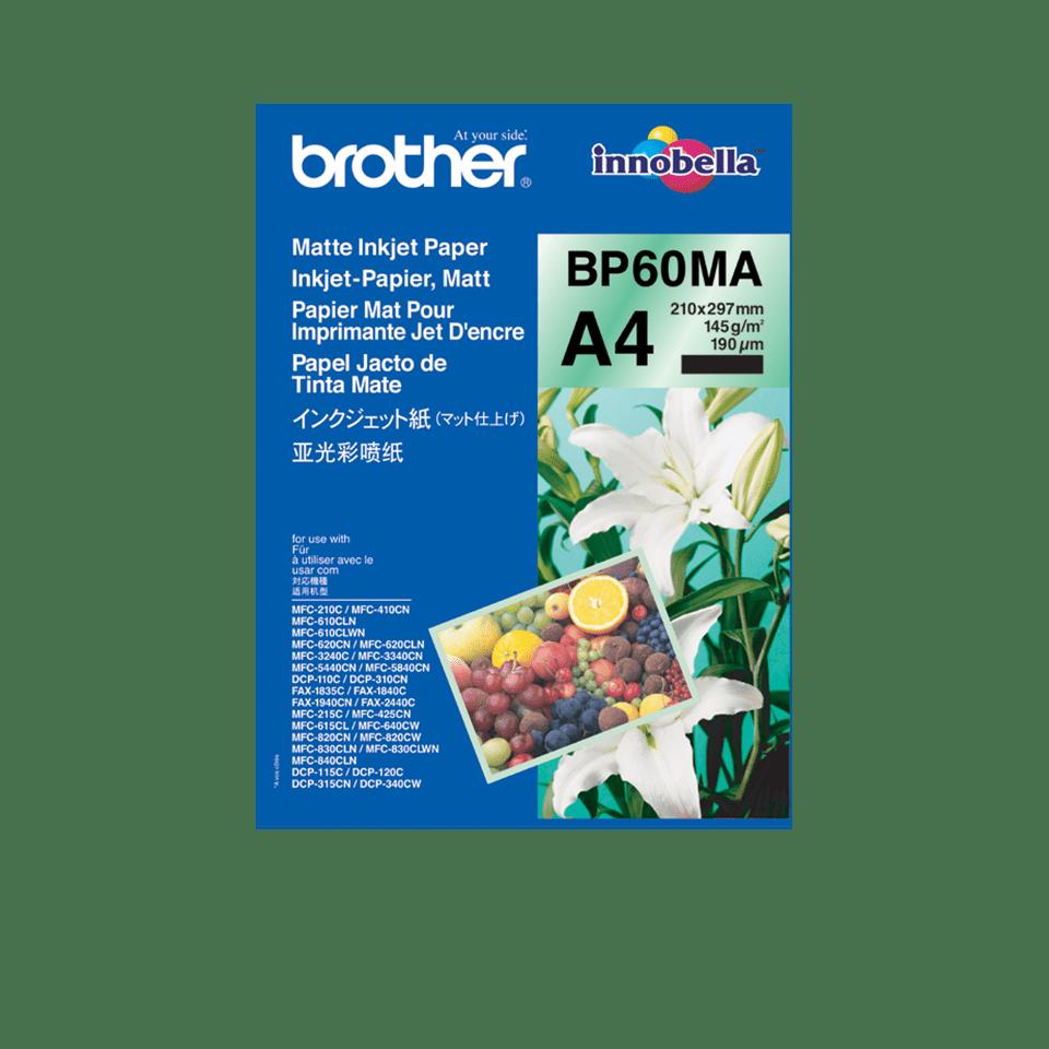 Brother original BP60MA matt A4blekkpapir