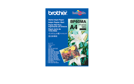 Hârtie A4 inkjet mată originală Brother BP60MA