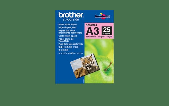 Oryginalny matowy papier BP60MA3 firmy Brother formatu A3