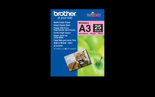 Hârtie inkjet A3 mată originală Brother BP60MA3