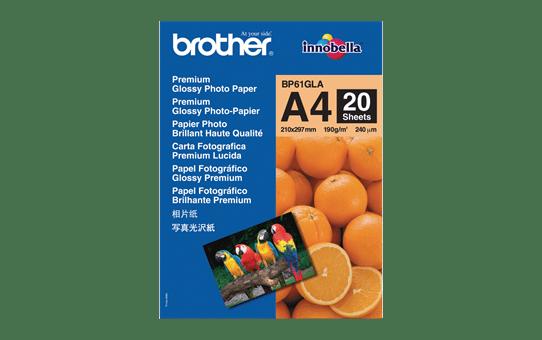 Papier photo brillant BP61GLA A4 Brother original