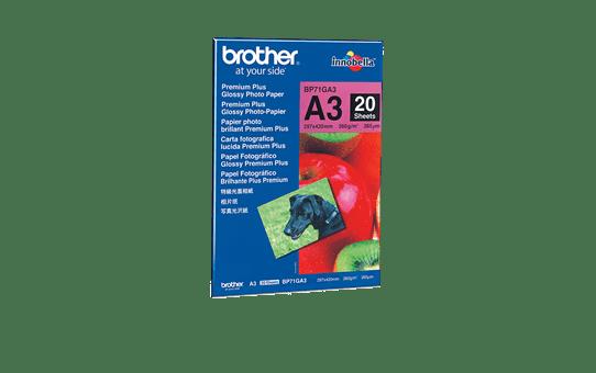 Brother BP71GA3 glanzend fotopapier A3