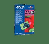 Oryginalny błyszczący papier fotograficzny firmy Brother BP-71GA3 formatu A3