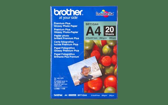 Brother BP71GA4 papier photo brillant A4