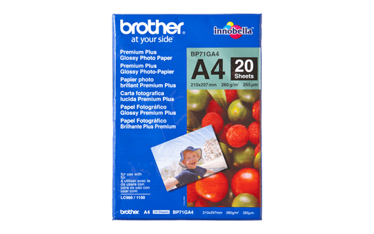 Genuine Brother BP71GA4 Glossy A4 Photo Paper