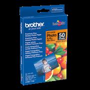 Brother BP71GP50 glanset fotopapir 10 cm x 15 cm i forpakning
