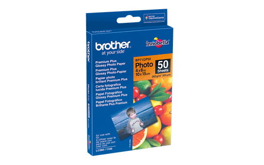 Originalt Brother BP71GP50 - blankt 10 cm x 15 cm inkjet fotopapir