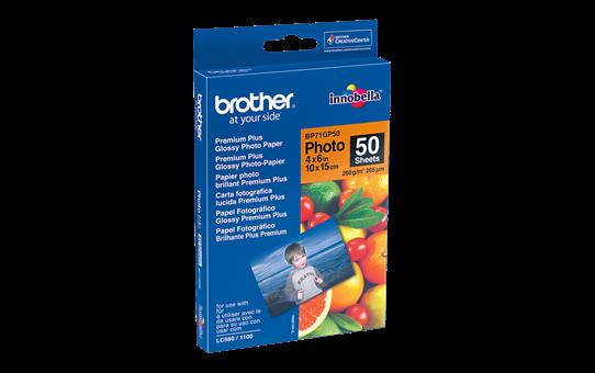 Оригинална фотохартия Brother BP71GP50 10 cm x 15 cm, гланц
