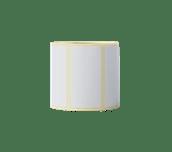 Brother original BDE1J026051060 papiretiketter i fast format for direkte termisk utskriftsteknologi