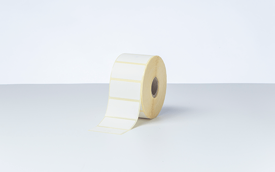BDE-1J026051-102 - direkte termisk labelrulle med udstansede labels 4