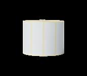 Brother originale BDE1J026076102 papiretiketter i fast format for direkte termisk utskriftsteknologi