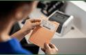 BDE-1J026076-102 - direkte termisk labelrulle med udstansede labels 5