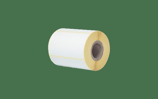 Tiesioginio terminio spausdinimo nukerpamų etikečių ritinėlis BDE-1J044076-066 2