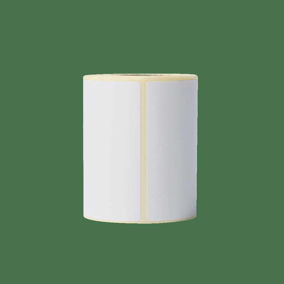 Brother BDE1J044076066 hvite papiretiketter i fast format, 76 mm x 44 mm bredde stående