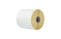 Brother originale BDE1J050102102 papiretiketter i fast format for direkte termisk utskriftsteknologi 2