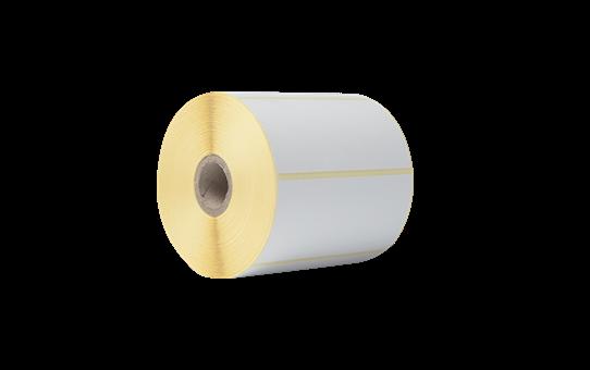 Brother originale BDE1J050102102 papiretiketter i fast format for direkte termisk utskriftsteknologi 3