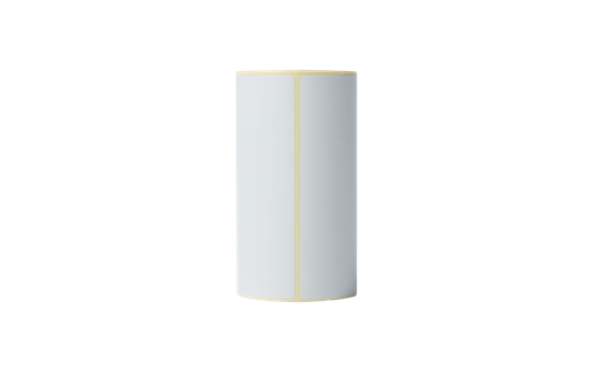 Brother originale BDE1J152102058 papiretiketter i fast format for direkte termisk utskriftsteknologi