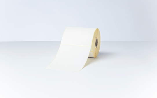 Brother originale BDE1J152102102 papiretiketter i fast format for direkte termisk utskriftsteknologi 4