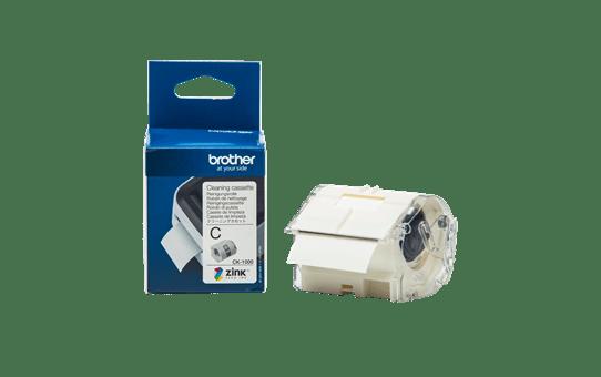 Ruban de nettoyage de tête d'impression Brother CK-1000 d'origine, 50 mm de large 3