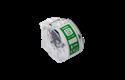 Rolă de etichete color continuă originală Brother CZ-1002, 12 mm lățime 2
