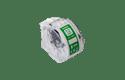 Brother CZ-1002 Rotolo originale a lunghezza continua per etichette a colori - ampiezza 12 mm 2