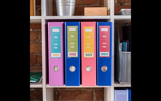 Brother CZ-1002 касета с лента за печат на пълноцветни етикети 4