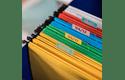 Rolă de etichete color continuă originală Brother CZ-1002, 12 mm lățime 8