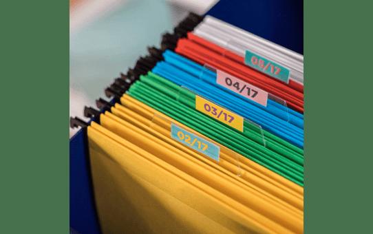 Rolă de etichete color continuă originală Brother CZ-1003, 19 mm lățime 8