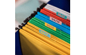 Rolă de etichete color continuă originală Brother CZ-1004, 25mm lățime 8
