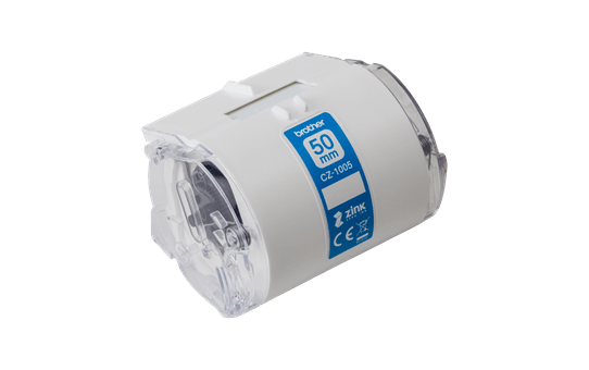 Genuine Brother CZ-1005 full colour continuous label roll, 50mm wide 2