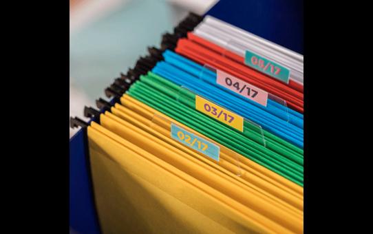 Rouleau continu d'étiquettes pleine couleur Brother CZ-1005 d'origine, 50 mm de large 8