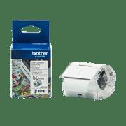 CZ-1005 50mm full colour label roll and box carton